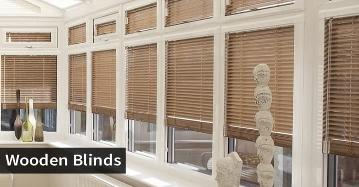 Conservatory Wooden Blinds