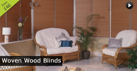 Conservatory Wood Blinds