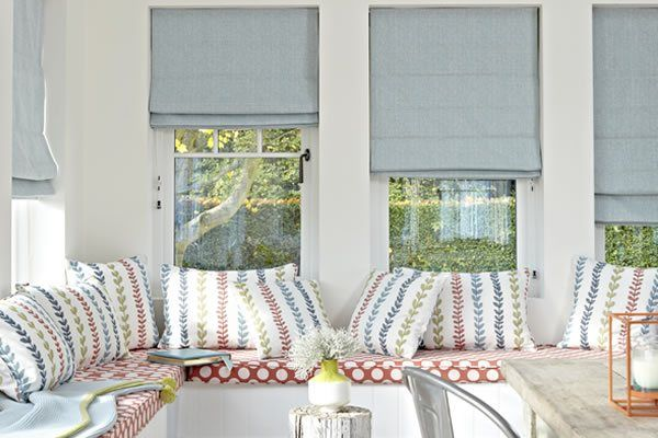 Fabric Window Blinds Made To Measure By English Blinds