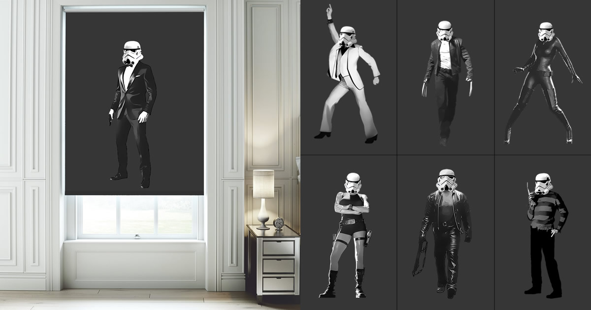 Stormtrooper Blinds The Movie Years English Blinds