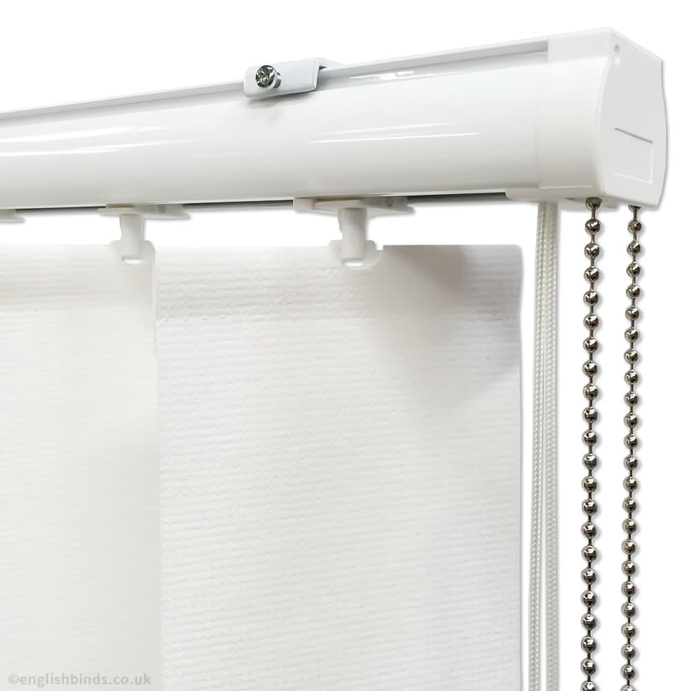 Multi Lux White Vertical Blinds Made To Measure English