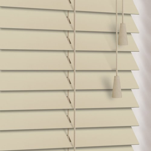 25mm Alabaster Wooden Blind