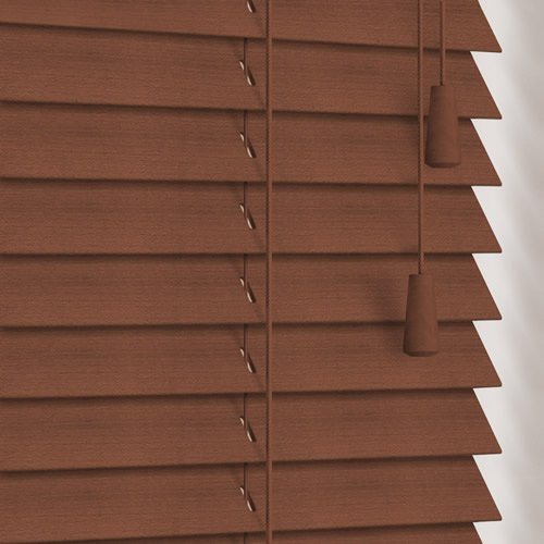 25mm Chestnut Wooden Blind
