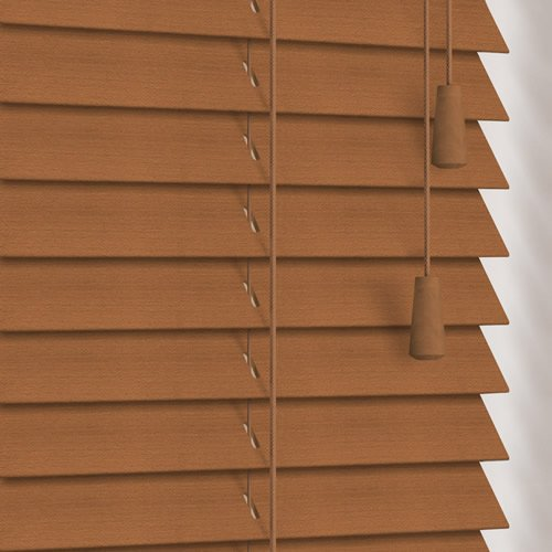 25mm Honey Wooden Blind