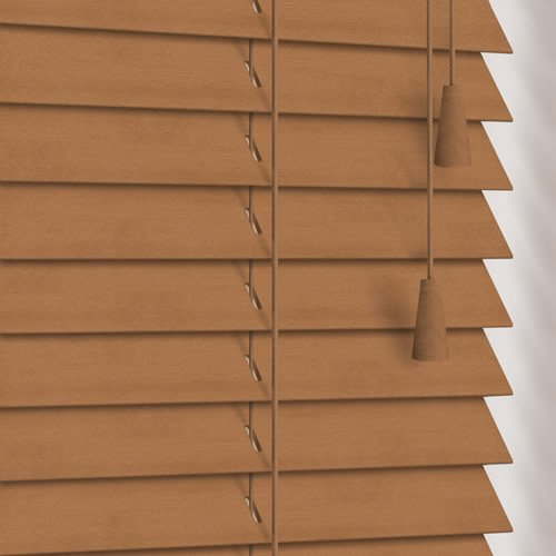 25mm Light Oak Wooden Blind