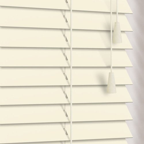 25mm Eggshell Wooden Blind
