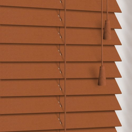 25mm Golden Oak Wooden Blind