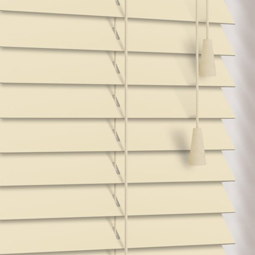 25mm Linen Wooden Blind