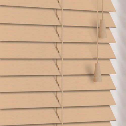 25mm Sandwash Wooden Blind