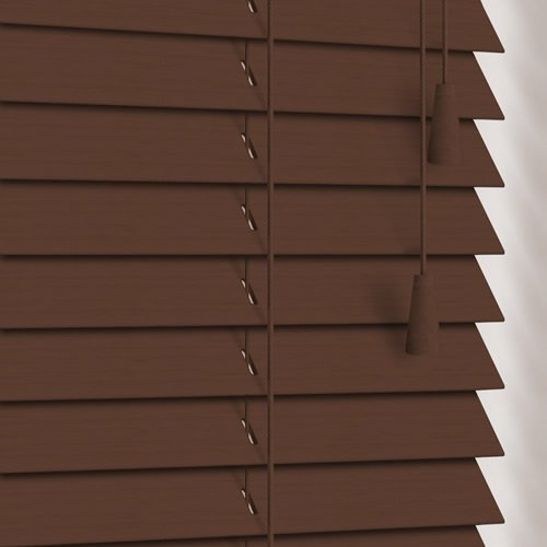 25mm Walnut Wooden Blind