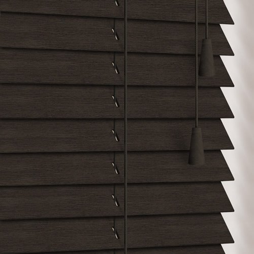 25mm Wenge Wooden Blind