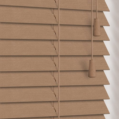 25mm Tawny Wooden Blind