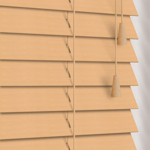 35mm Natural Wooden Blind