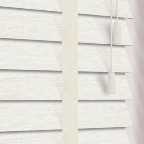 50mm Marle & Chiffon Faux Wood Wooden Blind