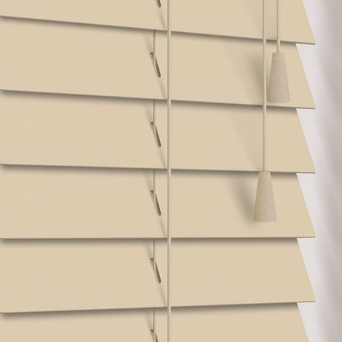 50mm Hessian Wooden Blind