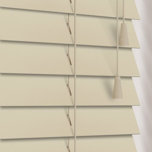 Timber blinds luxury 50 mm alabaster wooden venetian for Www timberblinds com