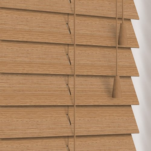 50mm Native Birch Wooden Blind