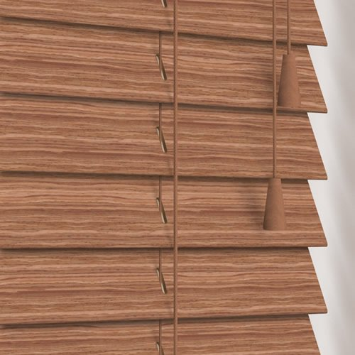 50mm Willow Oak Wooden Blind