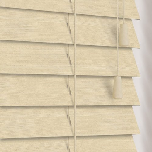 50mm Maple Wooden Blind