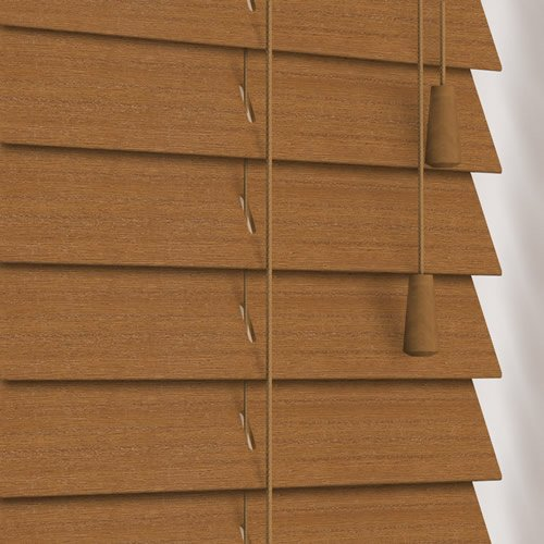 50mm Alder Wooden Blind