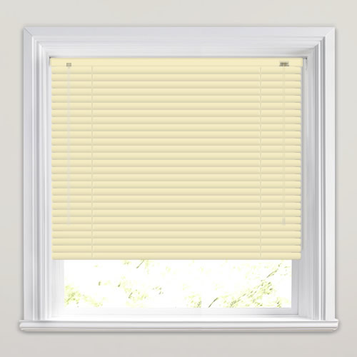 25mm Beige Venetian Blind