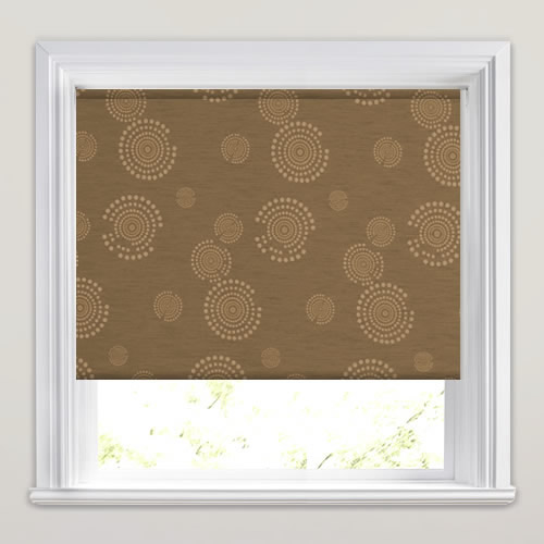 Sunrise Nutmeg Roller Blind