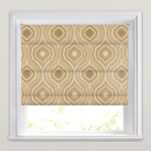 Magnesium Oyster Roman Blind