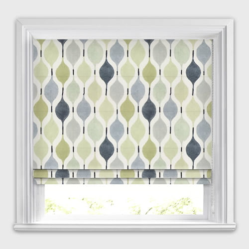 Beige Linen Green Grey Amp White Contemporary Patterned