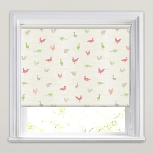 Birdies Apple Roller Blind