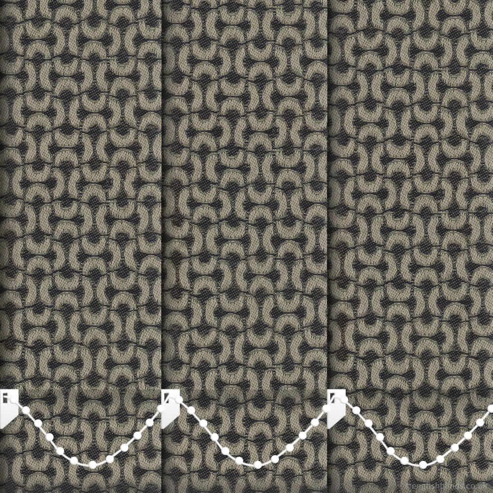 xanadu flax vertical blinds made to measure english blinds. Black Bedroom Furniture Sets. Home Design Ideas