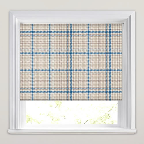 Tartan Murray Blue Roller Blind