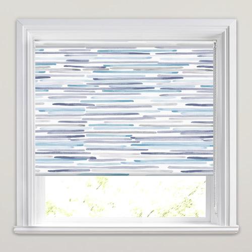 Strato Blue Roller Blind