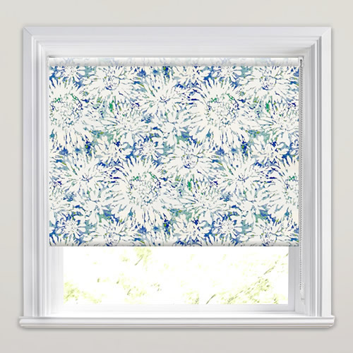Tropics Blue Lagoon Roller Blinds Made To Measure