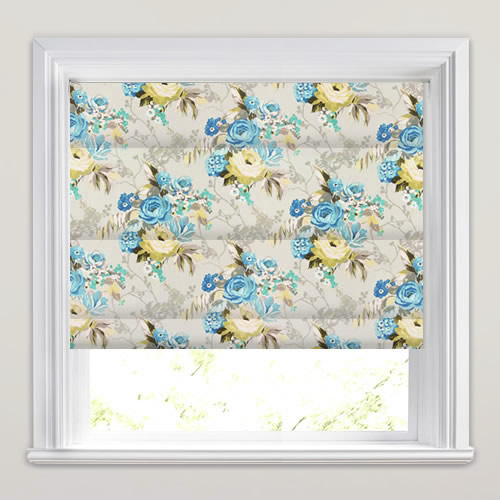 Indonesia Lagoon Roman Blind
