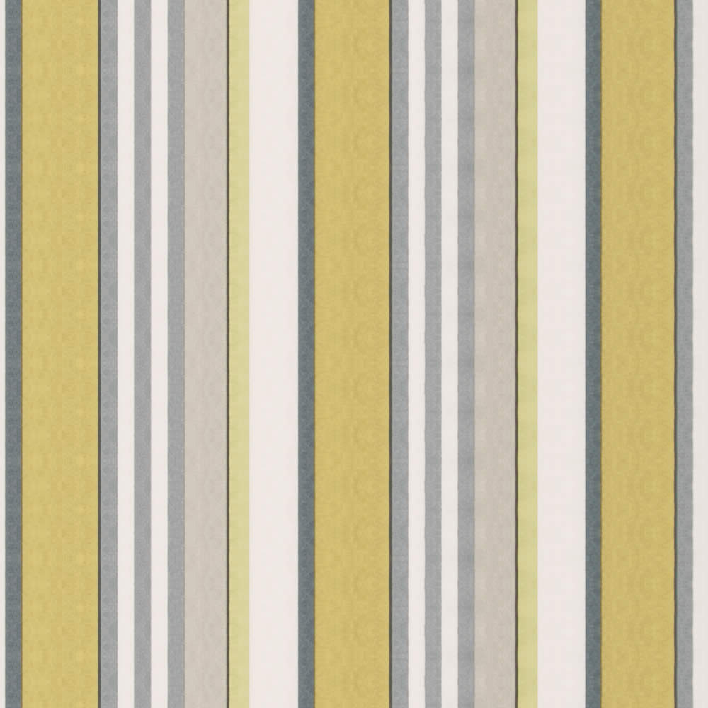 Golden Yellow Lime Grey Taupe Amp White Striped Roman Blinds