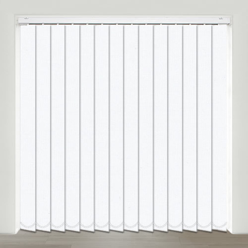 Gala Snow Vertical Blind