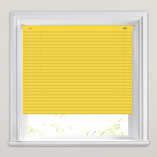 Yellow Venetian Blinds Bright Amp Vibrant Made To Measure
