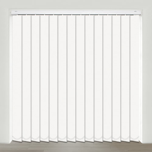 Mono FR White Vertical Blind