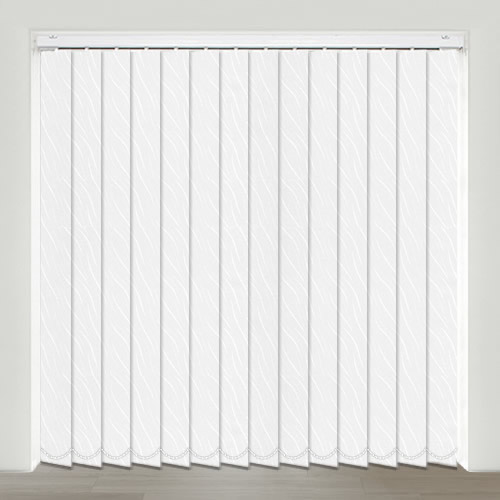 Vesi White Vertical Blind