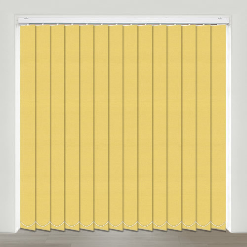 Mono FR Yellow Vertical Blind