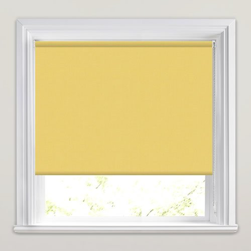 Mono FR Yellow Roller Blind