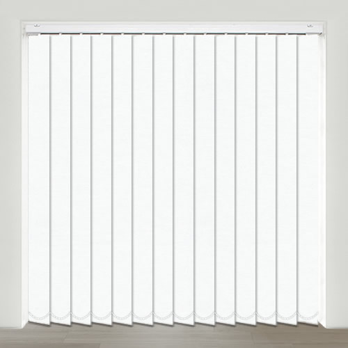 Sweet Dreams Frost White Vertical Blind