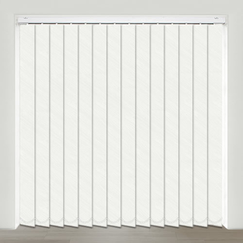 Hillary White Vertical Blind