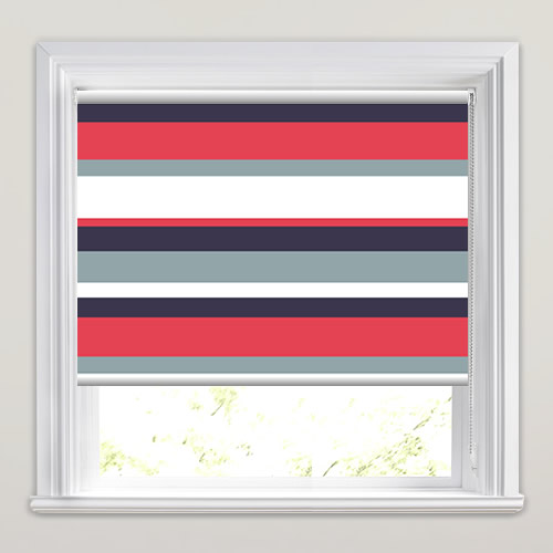 Harvard Blues Roller Blinds Made To Measure