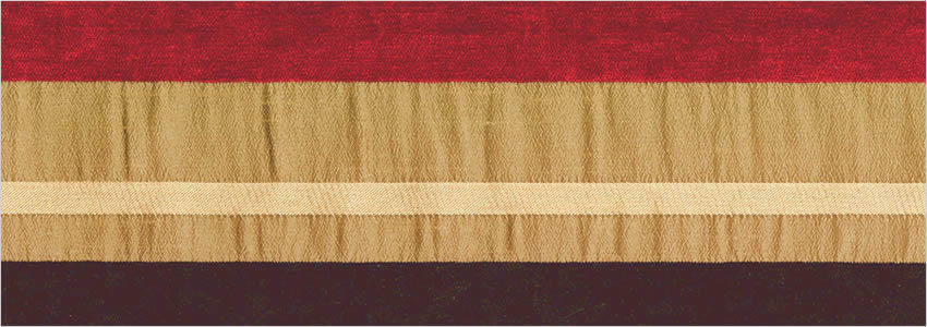 Bronze Brown Amp Vibrant Red Striped Made To Measure Curtains