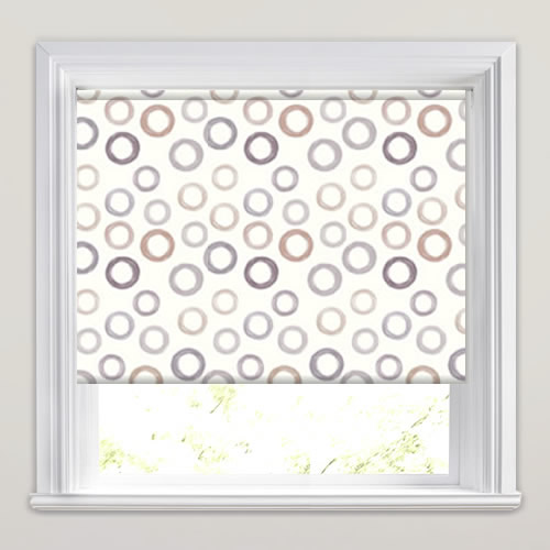 Hoops Natural Roller Blind