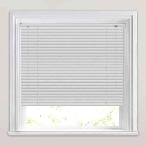 25mm Brushed Aluminium Venetian Blind