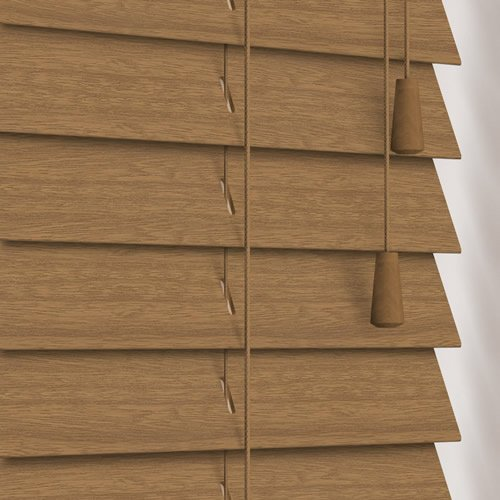 50mm Cabana Wooden Blind