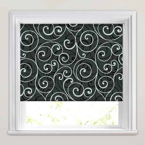 Scroll Magic Roller Blind