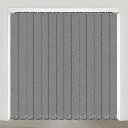 Mono FR Charcoal Vertical Blind